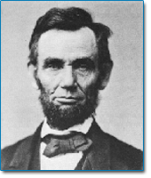 Image of president Abraham Lincoln