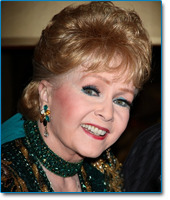 Image of actress and singer Debbie Reynolds