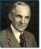Image of auto maker Henry Ford